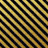Gold seamless lines pattern on white background Stock Photography