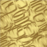 Gold seamless pattern  Royalty Free Stock Image