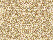 Gold seamless pattern Royalty Free Stock Photography