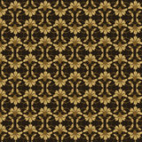 Gold seamless pattern Stock Images