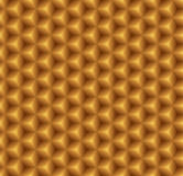 Gold seamless texture. Vector background Royalty Free Stock Photos