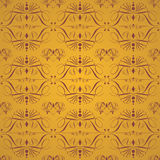 Gold Seamless Vintage Background. Vintage seamless floral pattern, can be used as textile, fabric or wrapping paper Stock Image
