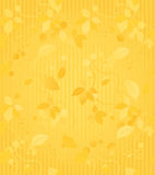 Gold Seamless Wallpaper Pattern Stock Photo