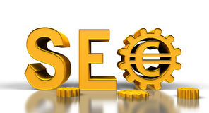Gold SEO Stock Photography