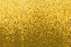 Gold sequined fabric Royalty Free Stock Image