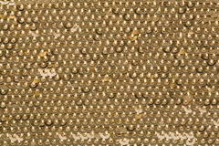 Gold Sequins Royalty Free Stock Photos