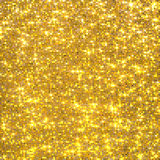 Gold sequins background Stock Photos