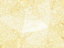 Gold sequins texture. Abstract halftone background. Vector golden pattern of round elements. Stock Photography