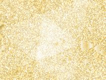 Gold sequins texture. Abstract halftone background. Vector golden pattern of round elements. Royalty Free Stock Photos
