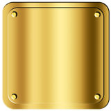 Gold Sheet Royalty Free Stock Images