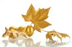 Gold sheet Royalty Free Stock Image