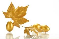 Gold sheet Stock Image