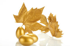 Gold sheet Royalty Free Stock Photos