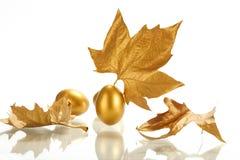 Gold sheet Royalty Free Stock Photos
