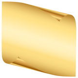 Gold sheet Royalty Free Stock Image