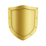 Gold Shield Royalty Free Stock Images