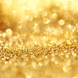 Gold shimmering background Royalty Free Stock Photos