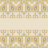 Gold shine fashion pattern from brilliant stones, rhinestones. Royalty Free Stock Photos
