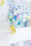 Gold shiny ball Stock Photography
