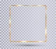 Free Gold Shiny Frame Stock Photography - 156876502
