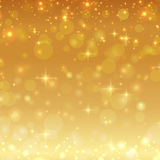 Gold shiny glitter christmas background. Vector Royalty Free Stock Photography