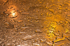 Gold shiny metallic surface background Stock Photos