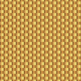 Gold shiny template. Wicker gold seamless pattern. Abstract geometric texture. Golden ribbons. Retro Vintage decoration. Design te. Mplate for wallpaper Stock Photo