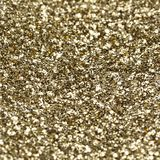 Gold shiny texture, yellow sequins with blur background Stock Photography
