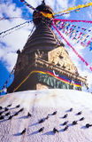 Shrine in Nepal Royalty Free Stock Photography
