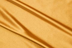 Gold silk Royalty Free Stock Images