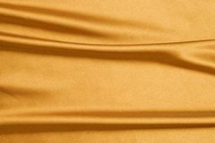Gold silk Stock Photo