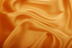 Gold silk Royalty Free Stock Photos