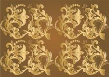 gold silk Στοκ φωτογραφίες με δικαίωμα ελεύθερης χρήσης