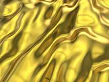 Gold silk background Royalty Free Stock Image