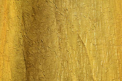 Gold silk background Royalty Free Stock Photo