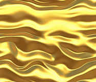 gold silk or satin background Royalty Free Stock Photography
