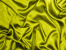 Gold silk Stock Image