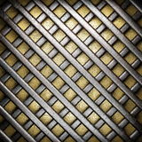 Gold and silver background Royalty Free Stock Photos