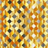 Gold and silver background Stock Images
