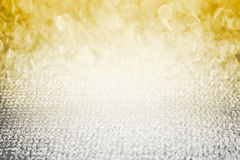 Gold silver diamond shiny glitter abstract bokeh,Easy use beauty pretty spaces as contemporary backdrop design. Silver gold diamond shiny glitter abstract bokeh royalty free stock photos