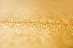 Gold silver glittering background Royalty Free Stock Photo