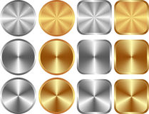 Gold silver Royalty Free Stock Photography