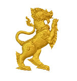 Gold singha Royalty Free Stock Images