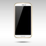 Gold Smartphone Stock Photography