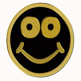 Gold smiley Royalty Free Stock Photos