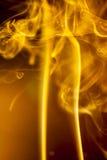 Gold smoke Royalty Free Stock Image