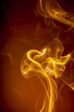 Gold smoke Royalty Free Stock Images