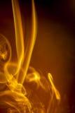 Gold smoke Stock Photography