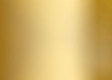 Gold Smooth Metal Plate Stock Image