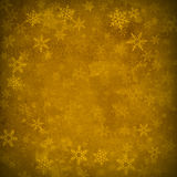 Gold Snowflakes Abstract Christmas Parchment Background Royalty Free Stock Images
